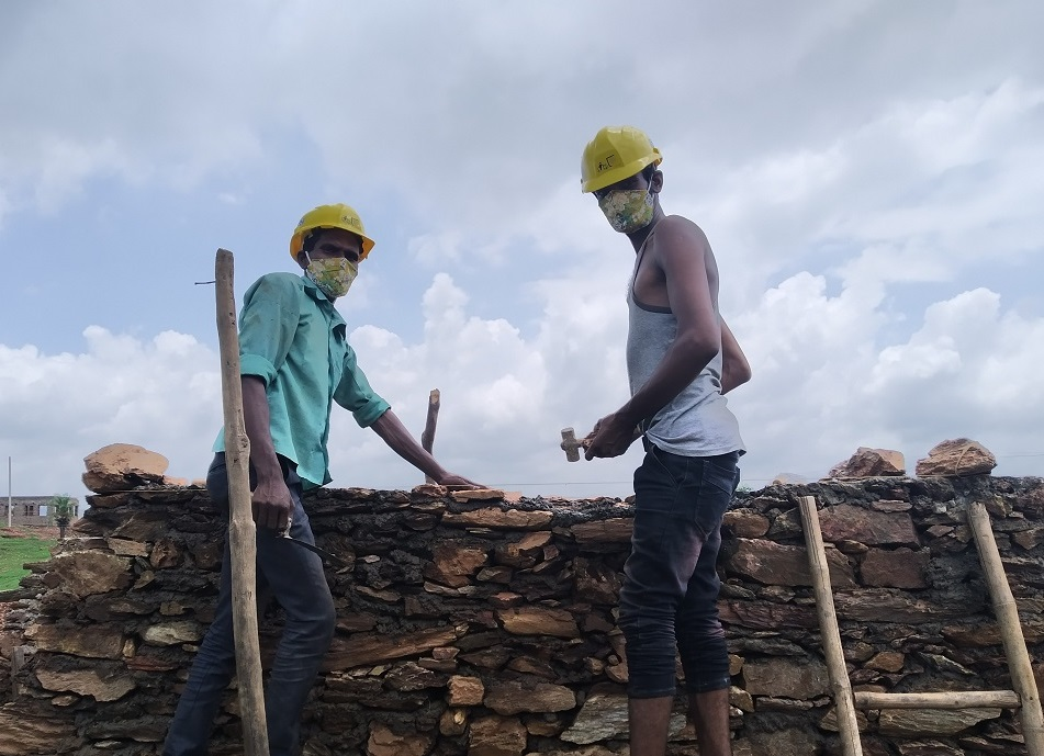 Support for livelihood with dignity